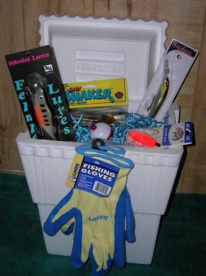 The Grand Poobah Fishing Gift Basket. Saltwater Fishing