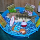 Tub of Tackle Freshwater Fishing Gift Basket
