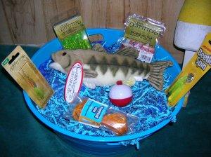 Tub of Tackle Freshwater Fishing Gift Basket