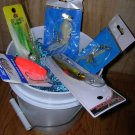 """The Angler"" Fishing Gift Basket Saltwater"