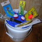 Nautilus Fishing Gift Basket. Great Unique Fishing Gift!