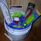 "Saltwater Fishing Gift Basket, ""Skipper"" skip002b"