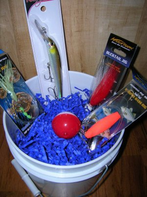 saltwater fishing gift basket skip007