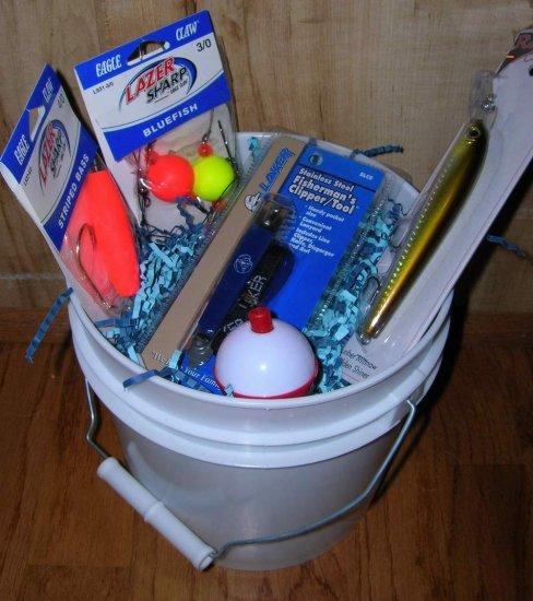 Fishing Gift Basket (Item#skip005)