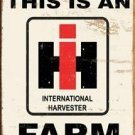 IH RED FARMALL TRACTOR SIGN INTERNATIONAL FARM SIGNS I