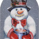 GOT COCOA TIN SIGN WINTER TIME SNOWMAN SIGNS C