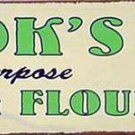 COOK'S FLOUR RETRO TIN SIGN PIC METAL HOME AD SIGNS T