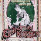 GRANDMAS KITCHEN RETRO TIN SIGN PIC METAL HOME SIGN S T
