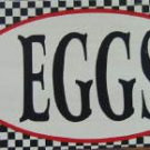 FARM FRESH EGGS RETRO TIN SIGN PIC METAL HOME AD SIGNS