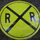 YELLOW RAILROADTIN SIGN METAL BAR CAFE LOGO SIGNS R