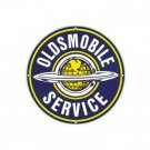 OLDSMOBILE SERVICE PORCELAIN COAT SIGN METAL ADV SIGNS