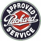 PACKARD PORCELAIN-OVERLAY SIGN METAL ADV SIGNS P