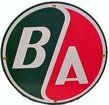 B/A PORCELAIN COAT SIGN METAL ADV SIGNS
