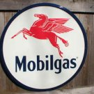 MOBILGAS TIN SIGN w/PEGASUS RETRO METAL ADV AD SIGNS P