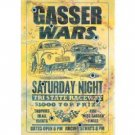 GASSER WARS SATURDAY NIGHT SIGN RETRO CAR ADV SIGNS G