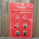 GUINNESS DRAUGHT TIN BEER SIGN
