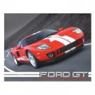 FORD GT PACE CAR TIN SIGN RETRO METAL ADV CAR SIGNS F