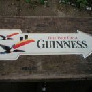 GUINNESS ARROW TIN SIGN METAL BEER BAR HOME AD SIGNS G