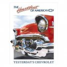 CHEVY HEARTBEAT TRIBUTE TIN SIGN RETRO METAL SIGNS C