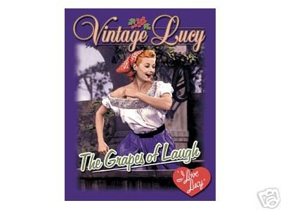 LUCY GRAPES OF LAUGH TIN SIGN METAL ADV AD SIGNS L