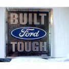 BUILT FORD TOUGH LOGO RETRO METAL SIGN ADV SIGNS F