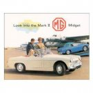 MG MIDGET MARK ll TIN SIGN METAL ADV CAR AUTO SIGNS M