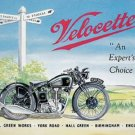 TRIUMPH VELOCETTE MOTORCYCLES TIN SIGN METAL SIGNS NE S