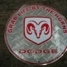 DODGE ALUMINUM ROUND SIGN METAL BAR HOME CAFE CAR SIGNS