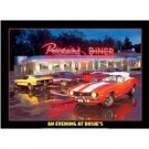 ROSIE'S DINER MUSCLE CAR TIN SIGN METAL CHEVELLE SIGNS
