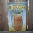 SHAKEY'S MALT SHOP TIN SIGN METAL SHAKE ADV AD SIGNS S