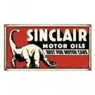 SINCLAIR MOTOR OILS TIN SIGN RETRO GASOLINE OIL SIGNS S