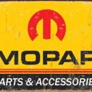 MOPAR SIGN METAL RETRO ADV SIGNS M