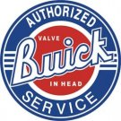 BUICK AUTHORIZED SERVICE SIGN METAL ADV AD SIGNS
