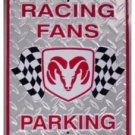 RESERVED PARKING DODGE TIN SIGN METAL TRUCK RETRO SIGNS