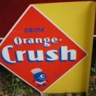 DRINK ORANGE CRUSH STEEL FLANGE C