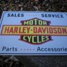 MOTORCYCLE PARTS METAL BIKE BAR SIGN TIN SIGN H
