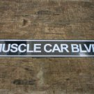 MUSCLE CAR BLVD TIN SIGN METAL CAR HOME CAFE AD SIGNS C