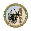 US ARMY ROUND TIN SIGN METAL MILITARY SIGNS N