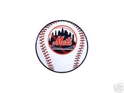 NEW YORK METS BASEBALL SIGN METAL ADV AD SIGNS D