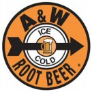 A & W ROOTBEER TIN SIGN METAL POP SODA ADV SIGNS A