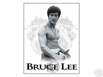 BRUCE LEE YING YANG SIGN COLLECTOR ADV METAL SIGNS L