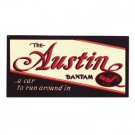 AUSTIN BANTAM METAL SIGN RETRO ADV AD SIGNS A