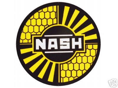 NASH SIGN METAL ADV SIGN RETRO ADV AD SIGNS N