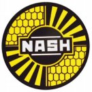NASH SIGN METAL ADV SIGN RETRO ADV AD SIGNS N