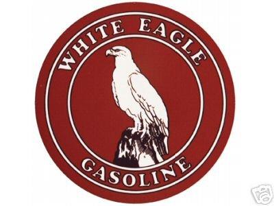 WHITE EAGLE GASOLINE SIGN RETRO METAL ADV SIGNS W