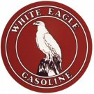 WHITE EAGLE GASOLINE SIGN RETRO METAL ADV SIGNS W