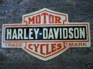 MOTORCYCLE SHIELD TIN SIGN METAL ADV SIGNS H