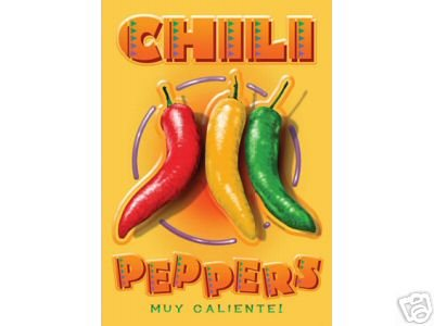 CHILI PEPPERS SIGN C