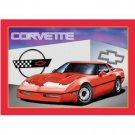 NEW CORVETTE SIGN RETRO ADV METAL SIGNS C