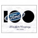 FORD MOTOR COMPANY 100 YEARS TIN SIGN